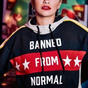 NWT- Hoodie, Rita Ora Collection- Adidas